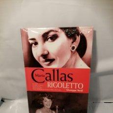 Libros de segunda mano: MARÍA CALLAS: RIGOLETTO DE GIUSEPPE VERDI : DOUBLE CD ET LIVRET, NOUVELLE EDITION REMASTERISÉE. Lote 243820415