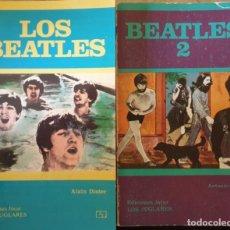 Libros de segunda mano: LOS BEATLES. 2 TOMOS; OBRA COMPLETA. - DISTER/CILLERO, ALAIN/ANTONIO.. Lote 244020360