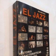 Libros de segunda mano: EL JAZZ. RICARD GILI. EDITORIAL NOVA TERRA. 1ª ED. 1978. DEDICATORIA MANUSCRITA DEL AUTOR. Lote 245425575