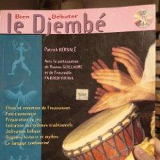 Libros de segunda mano: LE DJEMBÉ-LIBRO APRENDIZAJE. Lote 246165870