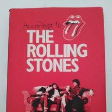 Libros de segunda mano: THE ROLLING STONES. ACCORDING TO.... Lote 246537595