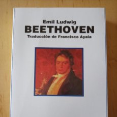 Livros em segunda mão: EMIL LUDWIG BEETHOVEN. Lote 253032745