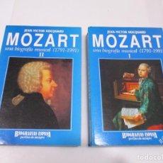 Libros de segunda mano: JEAN-VICTOR HOCQUARD MOZART UNA BIOGRAFÍA MUSICAL (1791-1991) W6454. Lote 254121755