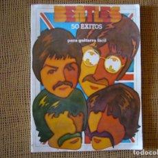 Libros de segunda mano: BEATLES 50 ÉXITOS PARA GUITARRA FÁCIL. Lote 254259755
