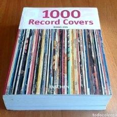 Libros de segunda mano: LIBRO 1000 RECORD COVERS DE MICHAEL OCHS (TASCHEN, 2005). Lote 254933030