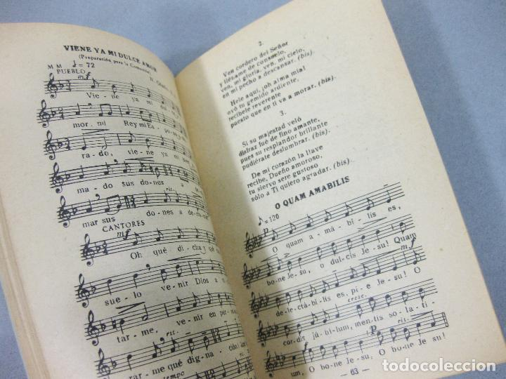 Libros de segunda mano: REPERTORIO MÚSICO. COLECCIÓN DE CANTOS RELIGIOSOS POPULARES. BILBAO 1953 - Foto 3 - 255960700