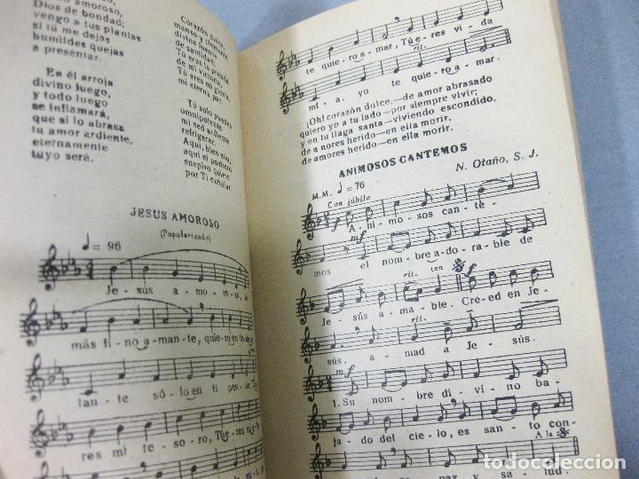 Libros de segunda mano: REPERTORIO MÚSICO. COLECCIÓN DE CANTOS RELIGIOSOS POPULARES. BILBAO 1953 - Foto 4 - 255960700