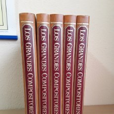 Libros de segunda mano: LOS GRANDE COMPOSITORES. Lote 256043100