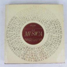 Libros de segunda mano: LA MÚSICA - EDITORIAL BLUME BARCELONA 1983 - THE MUSIC MAKERS. Lote 259900240