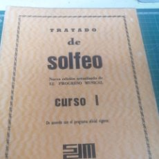 Libros de segunda mano: TRATADO DE SOLFEO. CURSO I. G. Lote 265219444