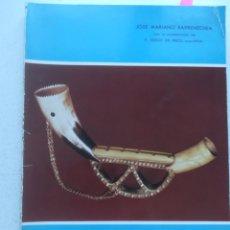 Livros em segunda mão: EUSKADI - NAVARRA. ALBOKA ENTORNO FOLKLÓRICO, JOSÉ MARIANO BARRENECHEA. LECAROZ (NAVARRA) 1976. Lote 266038753