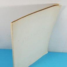 Libros de segunda mano: PRIMERA AUDICION MUNDIAL DE ATLANTIDA DE MANUEL DE FALLA 1961, ERNESTO HALFFTER 81 PAG, FOURNIER. Lote 268132129