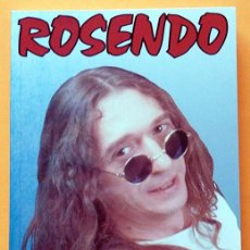 Libros de segunda mano: ROSENDO: ROCK EN LAS TRIPAS - PEDRO GINER - EDICIONES GUÍA DE MÚSICA - 1994 (1ª EDICIÓN) - NUEVO. Lote 268943344