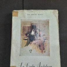 "Libros de segunda mano: EJEMPLAR Nº 978 LA COPLA ANDALUZA. CANTARES (FLORES DE ANDALUCÍA) DE SÁNCHEZ ROMERO, J. 1962 ECESA"". Lote 269288678"