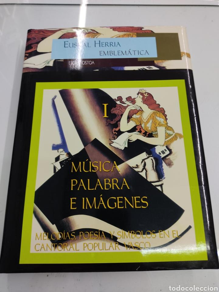Libros de segunda mano: MUSICA PALABRAS E IMAGENES 3 TOMOS MELODIAS POESIA SIMBOLOS CANTORAL POPULAR VASCO OCHOTES ETOR NUEV - Foto 4 - 271069483