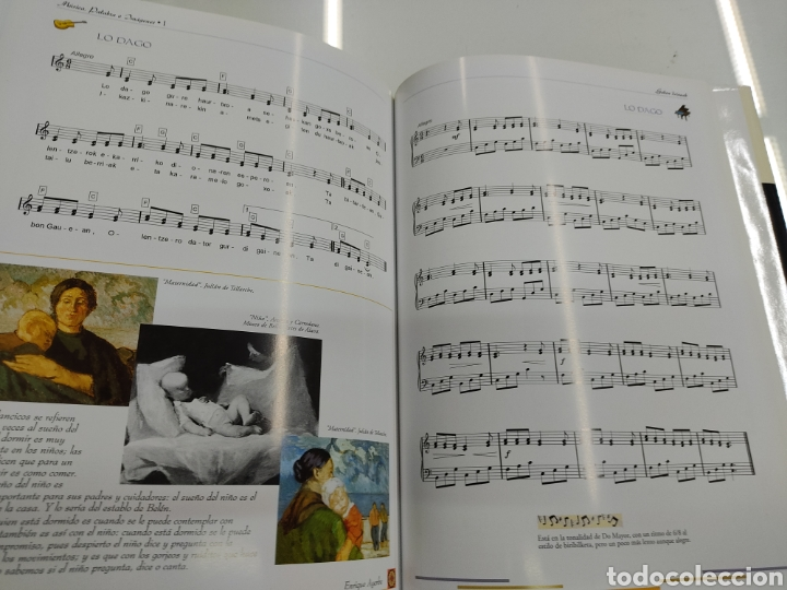 Libros de segunda mano: MUSICA PALABRAS E IMAGENES 3 TOMOS MELODIAS POESIA SIMBOLOS CANTORAL POPULAR VASCO OCHOTES ETOR NUEV - Foto 9 - 271069483