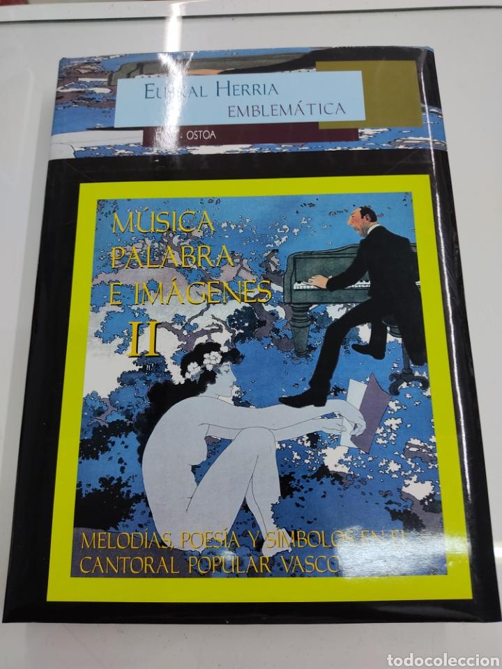 Libros de segunda mano: MUSICA PALABRAS E IMAGENES 3 TOMOS MELODIAS POESIA SIMBOLOS CANTORAL POPULAR VASCO OCHOTES ETOR NUEV - Foto 10 - 271069483