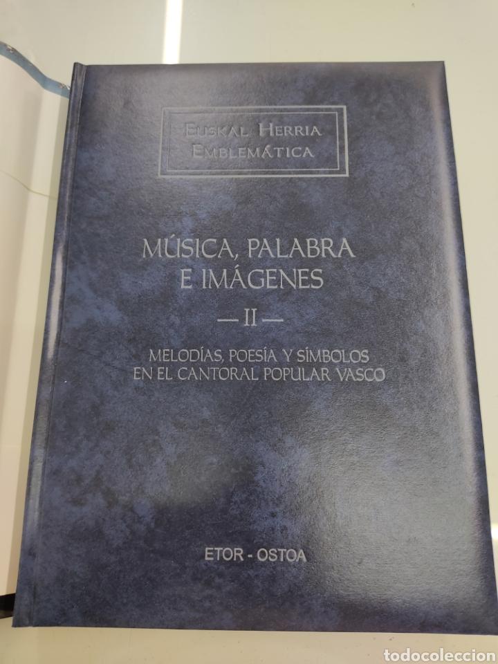 Libros de segunda mano: MUSICA PALABRAS E IMAGENES 3 TOMOS MELODIAS POESIA SIMBOLOS CANTORAL POPULAR VASCO OCHOTES ETOR NUEV - Foto 12 - 271069483