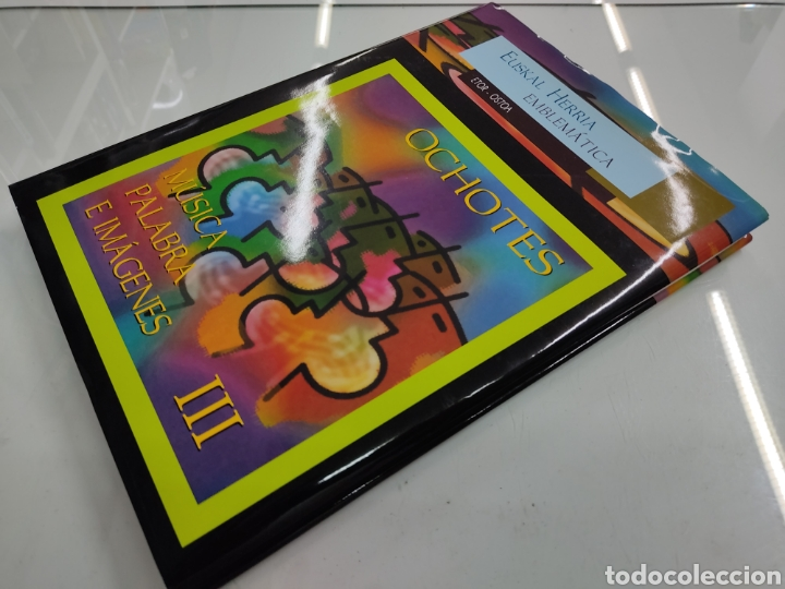 Libros de segunda mano: MUSICA PALABRAS E IMAGENES 3 TOMOS MELODIAS POESIA SIMBOLOS CANTORAL POPULAR VASCO OCHOTES ETOR NUEV - Foto 19 - 271069483