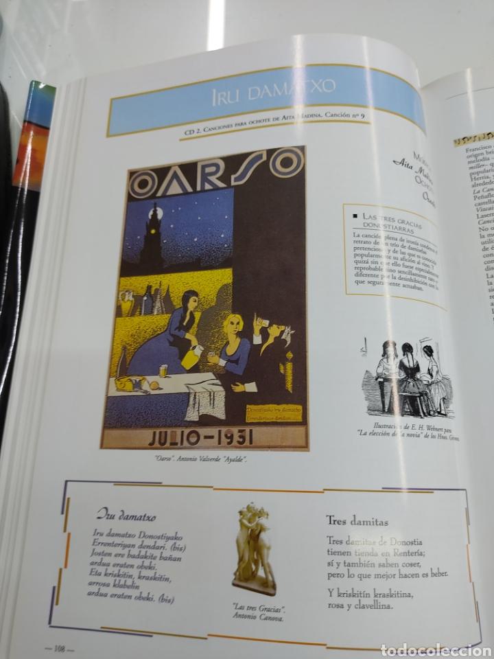 Libros de segunda mano: MUSICA PALABRAS E IMAGENES 3 TOMOS MELODIAS POESIA SIMBOLOS CANTORAL POPULAR VASCO OCHOTES ETOR NUEV - Foto 23 - 271069483