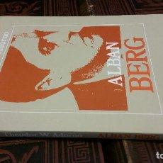 Libros de segunda mano: 1990 - THEODRO W. ADORNO. ALBAN BERG - ALIANZA MÚSICA. Lote 271077133