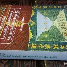 Libros de segunda mano: 1988 - FUBINI - LA ESTÉTICA MUSICAL DESDE LA ANTIGÜEDAD HASTA EL SIGLO XX - ALIANZA MÚSICA. Lote 271078033