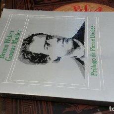 Libros de segunda mano: 1983 - BRUNO WALTER - GUSTAV MAHLER - ALIANZA MÚSICA. Lote 271577168