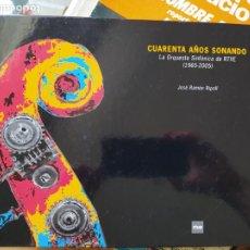 Livros em segunda mão: CUARENTA AÑOS SONANDO, ORQUESTA SINFONICA DE RTVE, 1965-2005. JOSE RAMON RIPOLL,. Lote 271849993