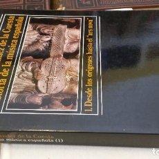 Libros de segunda mano: 1983 - DE LA CUESTA - HISTORIA DE LA MÚSICA ESPAÑOLA 1: DESDE LOS ORÍGENES HASTA EL ARS NOVA. Lote 273102778