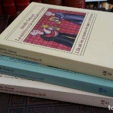 Libros de segunda mano: 1983 - ADOLFO SALAZAR - LA MÚSICA EN LA SOCIEDAD EUROPEA. 3 TOMOS - ALIANZA MÚSICA. Lote 273104348