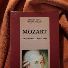 Libros de segunda mano: MOZART. REPERTORIO COMPLETO. DE AMEDEO POGGI Y EDGAR VALLORIA. CÁTEDRA /CLÁSICA.. Lote 273133593