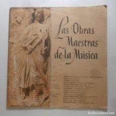 Libros de segunda mano: LAS OBRAS MAESTRAS DE LA MUSICA - JOSE SUBIRA - READER'S DIGEST - 1960. Lote 273404068