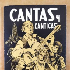 """Libros de segunda mano: CANTAS Y CANTICAS / JOSÉ Mª FERRER """"GUSTAVO ADOLFO"""" / HERALDO DE ARAGÓN. 1983. Lote 277449858"""