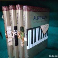 Libros de segunda mano: AUDITORIUM. CINCO SIGLOS DE MUSICA INMORTAL. DICCIONARIO DE LA MUSICA. (A-Z) 4 VOLUMENES. PLANETA.. Lote 277560998