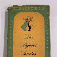 Libros de segunda mano: BILBIOTECA ZIG-ZAG - LOS MEJORES SONETOS - RODRIGO CASTIELLA. Lote 277715783