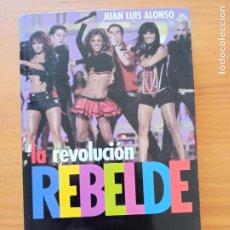 Libros de segunda mano: LA REVOLUCION REBELDE - JUAN LUIS ALONSO - DVD CON ENTREVISTA - ALBUM DE FOTOS CENTRAL (W). Lote 279518643