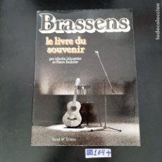 Libros de segunda mano: BRASSENS. Lote 280129643