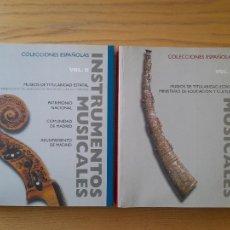 Libros de segunda mano: RARISIMA OBRA. INSTRUMENTOS MUSICALES EN LAS COLECCIONES ESPAÑOLAS. MIN. CULTURA, 1999 VER FOTOS.. Lote 285542568