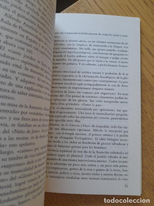 Libros de segunda mano: La espiritualidad en el cante flamenco, Alfredo Arrebola, ed. Universidad de Cadiz, 1988. Raro - Foto 7 - 288499678