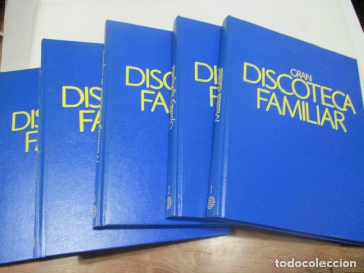 GRAN DISCOTECA FAMILIAR (5 TOMOS) W9430 (Libros de Segunda Mano - Bellas artes, ocio y coleccionismo - Música)
