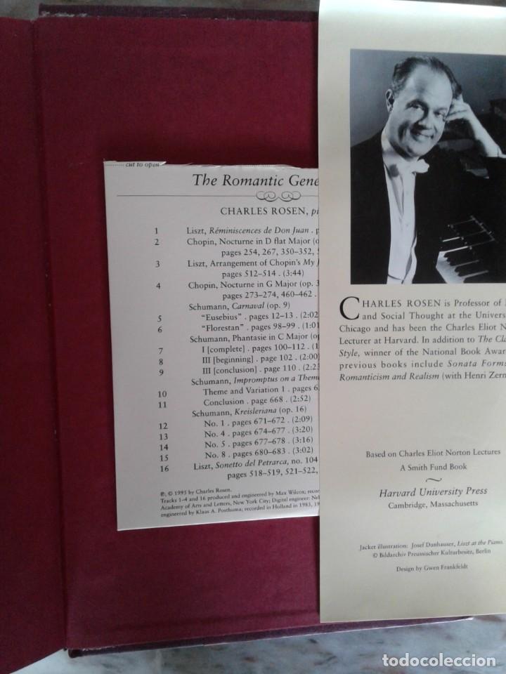 Libros de segunda mano: The Romantic Generation - Charles Rosen with original CD - Foto 2 - 288659183