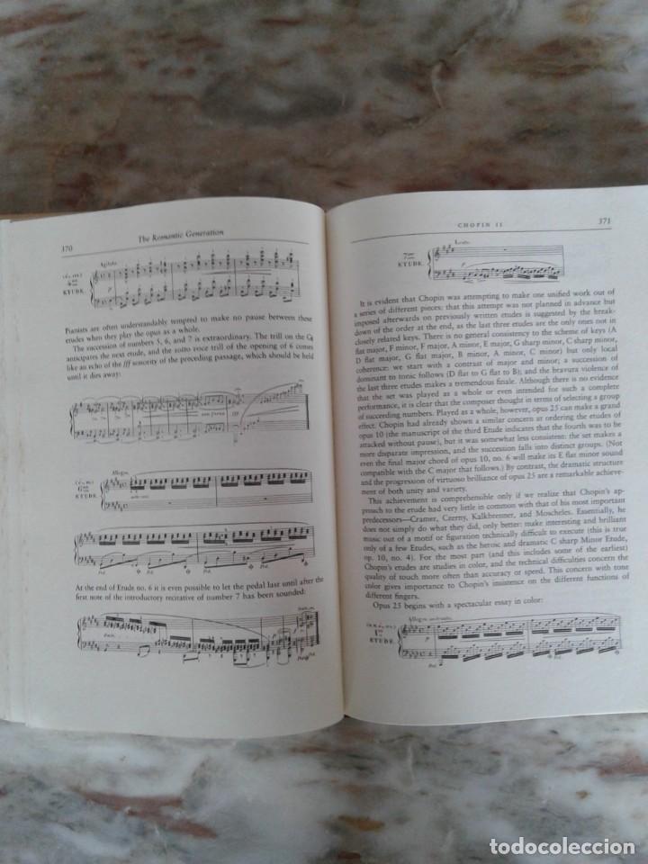 Libros de segunda mano: The Romantic Generation - Charles Rosen with original CD - Foto 3 - 288659183