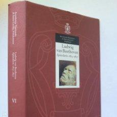 Libros de segunda mano: EPISTOLARIO (1825-1827, AÑO DE SU FALLECIMIENTO). LUDWIG VAN BEETHOVEN.. Lote 288724228