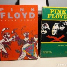 Libros de segunda mano: 2 LIBROS SOBRE EL GRUPO MUSICAL PINK FLOYD. Lote 289325273