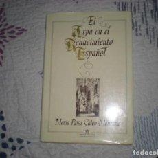 Libros de segunda mano: EL ARPA EN EL RENACIMIENTO ESPAÑOL;Mª ROSA CALVO-MANZANO;FUNDACIÓN BANCO EXTERIOR;1986. Lote 290078088