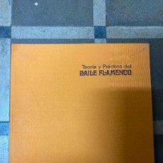 Libros de segunda mano: TEORÍA Y PRÁCTICA DEL BAILE FLAMENCO. TERESA MARTÍNEZ DE LA PEÑA. AGUILAR, 1969.. Lote 296004808