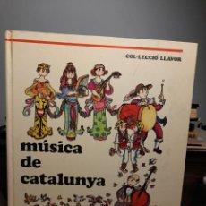 Libros de segunda mano: GRAN LIBRO MUSICA DE CATALUNYA ( DIBUIXOS DE PILARIN BAYES ). Lote 296050388