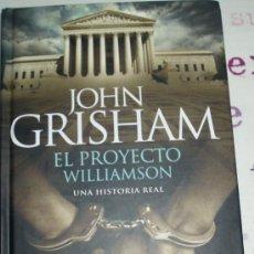 Libros de segunda mano: EL PROYECTO WILLIAMSON UNA HISTORIA REAL. Lote 26248530