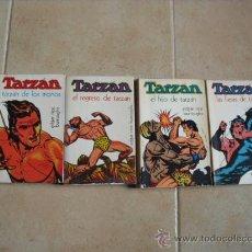 Libros de segunda mano: COLECCION COMPLETA DE TARZAN,DE EDITORIAL NOVARO 1973. Lote 18331907