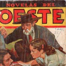 Libros de segunda mano: NOVELAS DEL OESTE. DEUDAS DE SANGRE. POR J. DE CARDENAS.. Lote 18885569